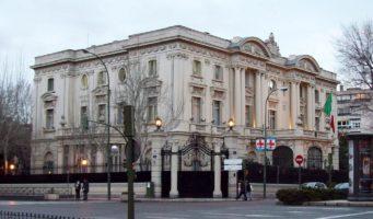 Presentazione del catalogo 2012 di Costa Crociere all'Ambasciata d'Italia a Madrid
