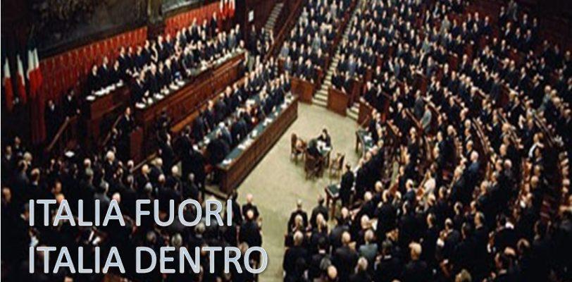 Secondo incontro dibattito dal titolo ITALIA FUORI, ITALIA DENTRO di Venerdi 8 febbraio ore 19.00