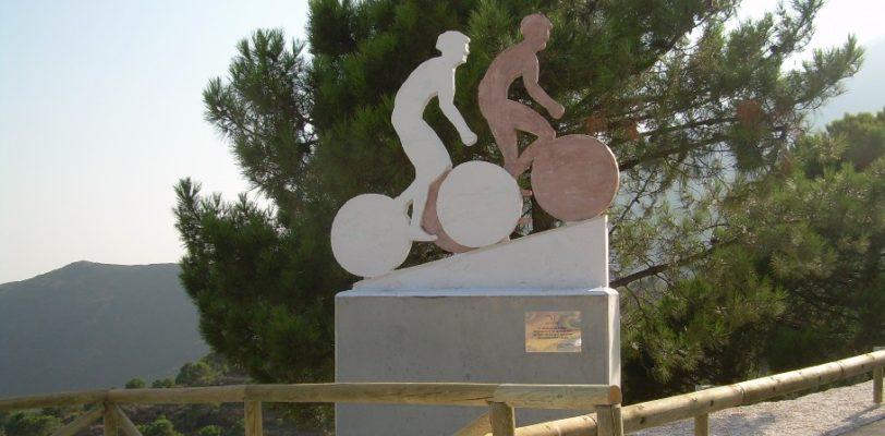 Inauguración Escultura Mirador de los Ciclistas