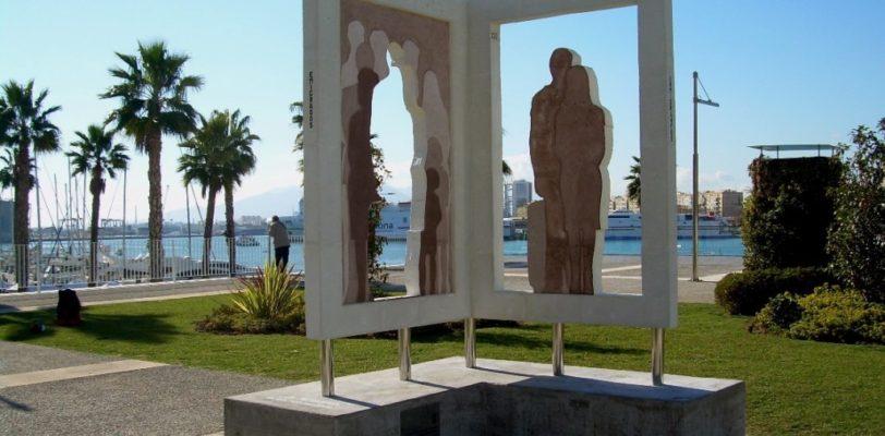 """Nuovo Monumento """"Los Migrantes"""" nella città di Malaga"""