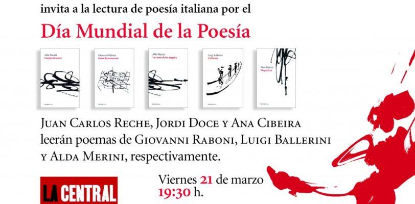 """""""Dìa de la Poesìa"""" – lettura di poesia Italiana"""