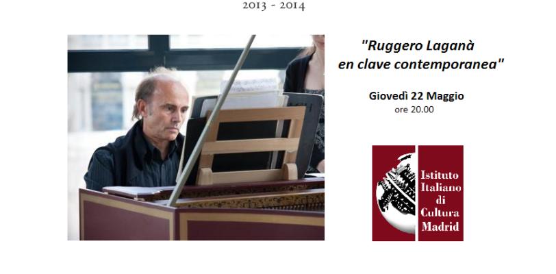 """Concerto """"Laganà, en clave contemporaneo"""" – Istituto Italiano di Cultura"""