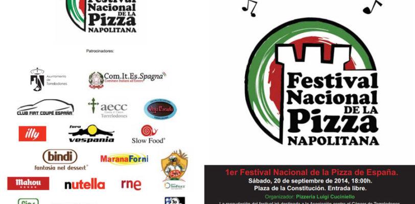 Sabato 20 Settembre I Festival Nazionale della Pizza Napoletana a beneficio della AECC de Torrelodones