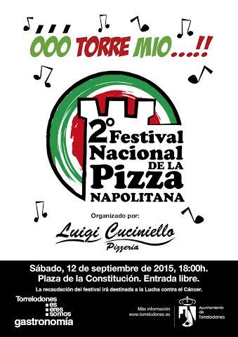 2º Festival Nazionale della Pizza in Spagna.