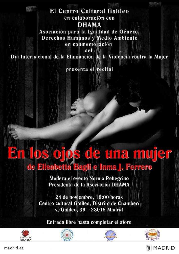 """""""En los ojos de una mujer"""" Recital di poesia a Madrid"""