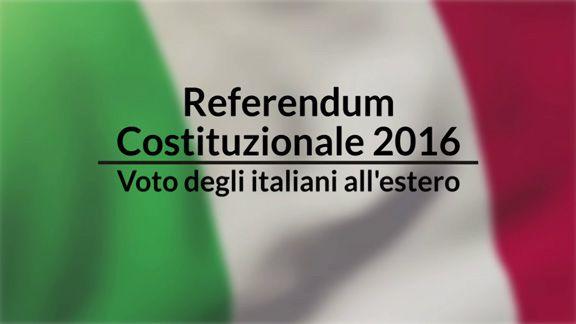Referendum costituzionale, la nota del segretario generale Cgie Michele Schiavone