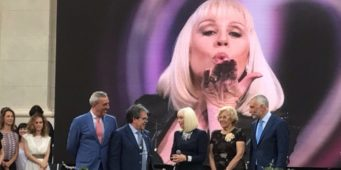 Passione Italia a Madrid conquista i madrileni. Raffaella Carrà madrina dell'evento