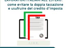 On line la nuova guida dell'Agenzia delle Entrate per lavoratori italiani all'estero