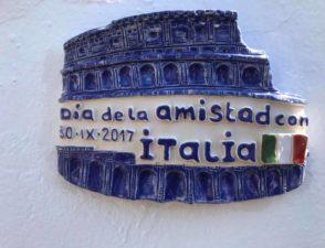"""Grande successo della """"Giornata della amicizia con Italia"""" di Mijas."""