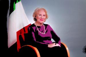 Liliana Mariottini, un'italiana che ha dedicato la sua vita alla Comunità Italiana in Spagna.