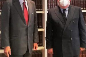 Madrid. L'Ambasciatore Guariglia incontra il Presidente Intercomites Mariani. Bilancio 2020 per la comunità italiana in Spagna e rinnovo dei Comites .