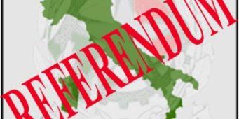 Referendum popolare abrogativo 17 aprile 2016 – Voto all'estero possibile anche per i non iscritti A.I.R.E
