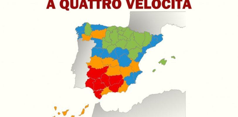 La Spagna a quattro velocità