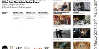 Tutti per uno. La forza del design italiano a Madrid