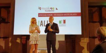 A Madrid presentazione di Itmakes Food&Wine