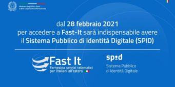 FAST-IT: DAL 2021 NECESSARIE CREDENZIALI SPID