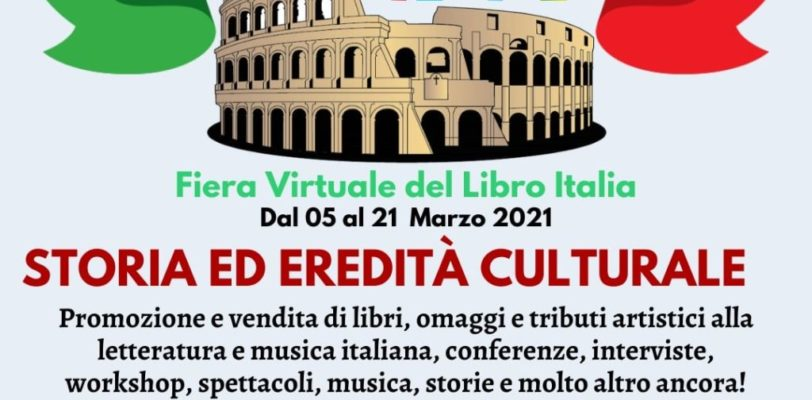 La 1ª Fiera Virtuale del Libro Italia renderà omaggio a Dante Alighieri a 700 anni dalla sua scomparsa